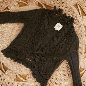 Ruehl no. 925 knit cardigan